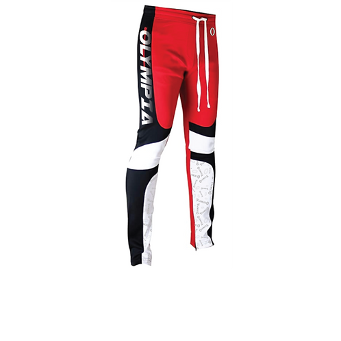 Olympia  Red Joggers Pants