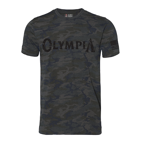 Olympia Vintage Camo Cotton Tee