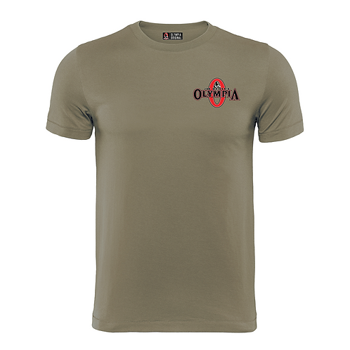 Olympia Signature Light Olive Cotton Tee