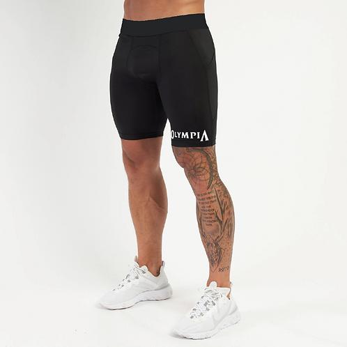 Olympia Black Compression Shorts