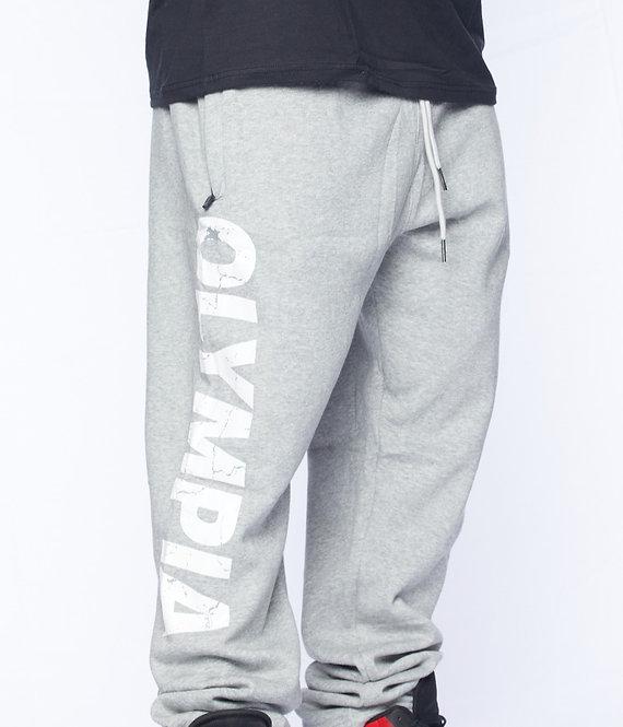 Olympia Loose Joggers Pants Gray