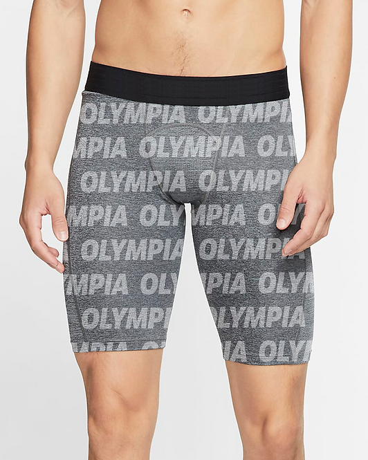 Olympia Gray Compression Shorts