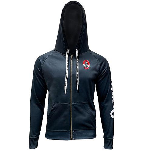 Olympia Black Dry Performance Hoodie Jacket