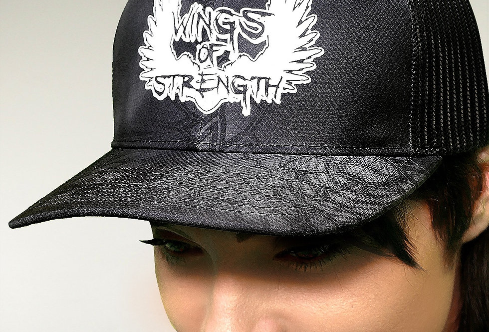 Wings of Strength Kryptek Hat w/ White Logo