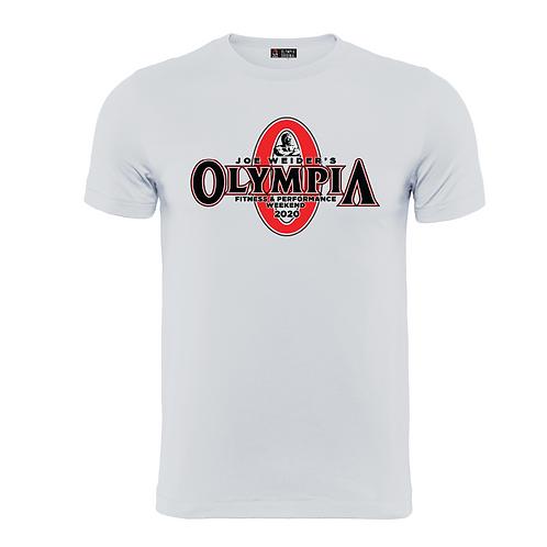 Joe Weider's Olympia Fitness & Performance Weekend 2020 Cotton White Tee