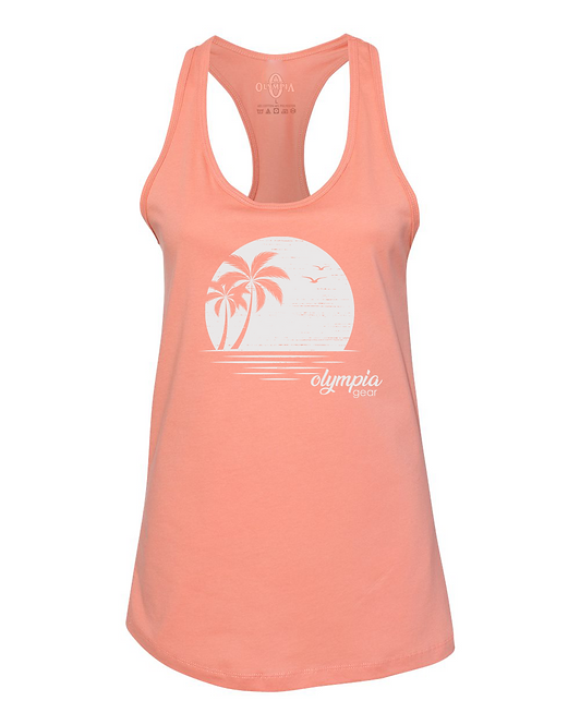 Olympia Gear Relax Sunset Racerback Tank Top