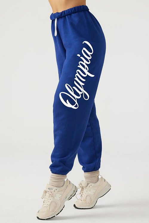 Olympia Oversized Joggers Blue