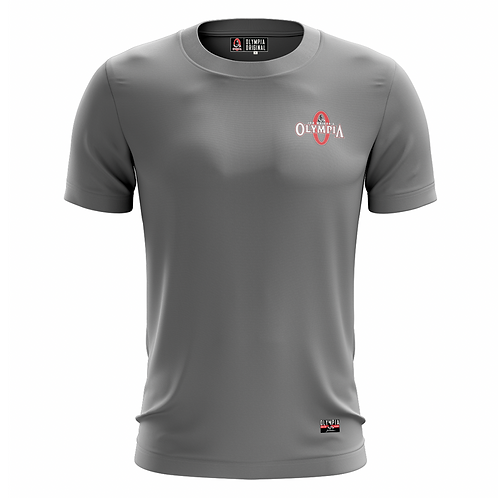 Olympia Signature Grey Dry Performance T-Shirt
