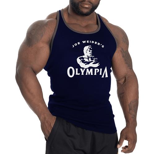Olympia Vintage T Back Tank Navy
