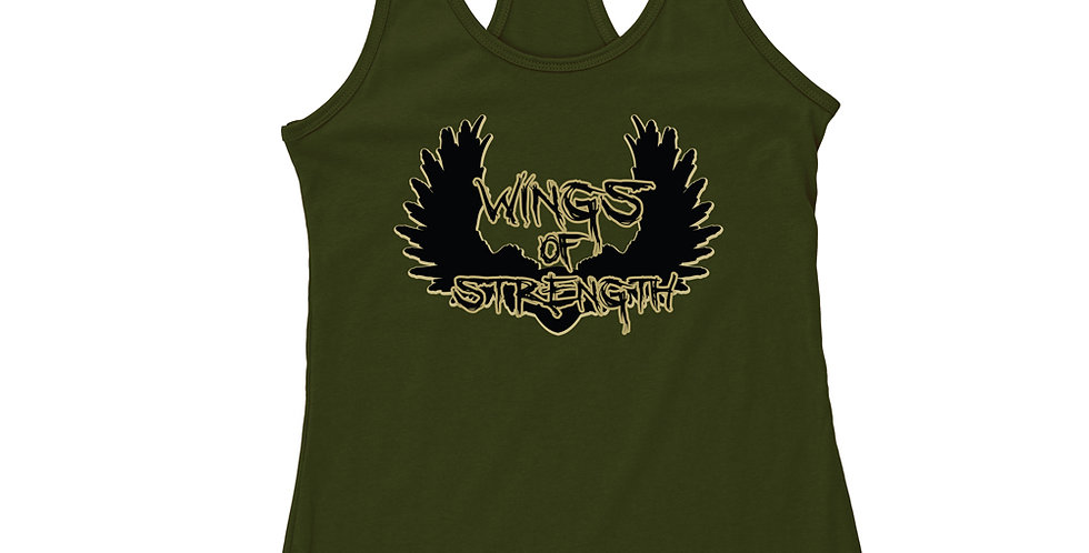 Wings of Strength Green Y Stringer