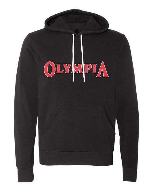 Olympia OG Black Fleece Light Pullover Hoodie