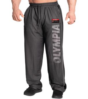 Olympia Black Mesh Sweatpants