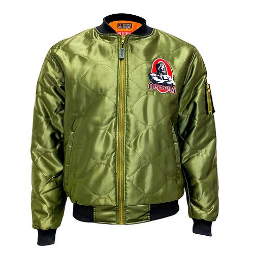 Olympia Original Bomber Jacket:      Athletic Green