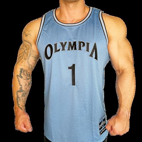Olympia Light Blue Basketball Jersey