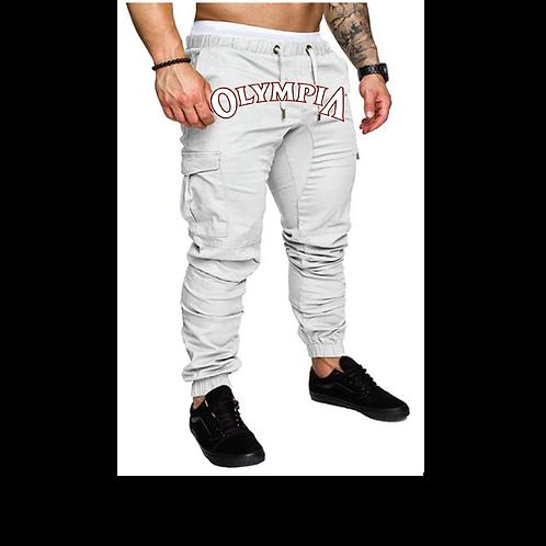 Olympia  Cream Joggers Pants