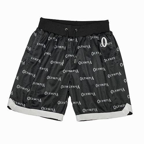 Olympia Black Basketball Shorts
