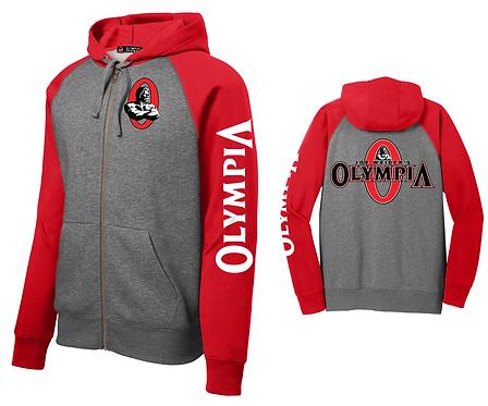 Olympia Full-Zip Hooded Fleece Jacket