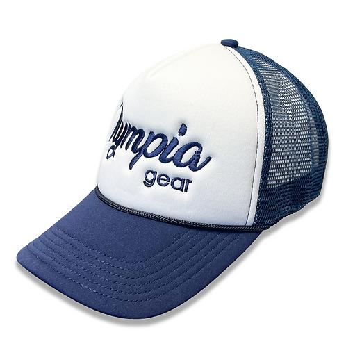OG Olympia Trucker Hat - Navy