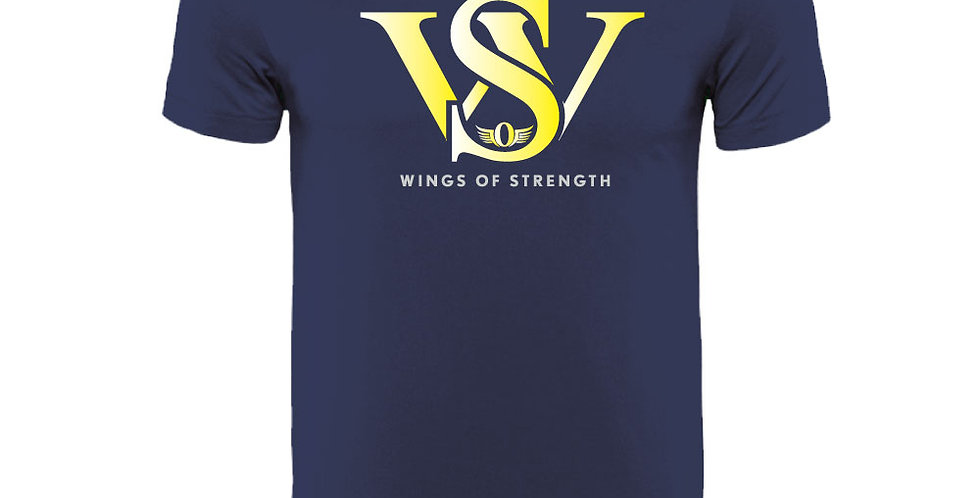 Navy Wings of Strength Unisex WOS T-Shirt