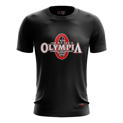 Black Olympia Classic 2020 Dry Performance T-Shirt