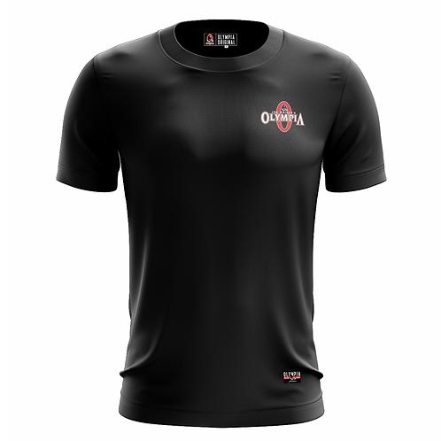 Olympia Signature Black Dry Performance T-Shirt