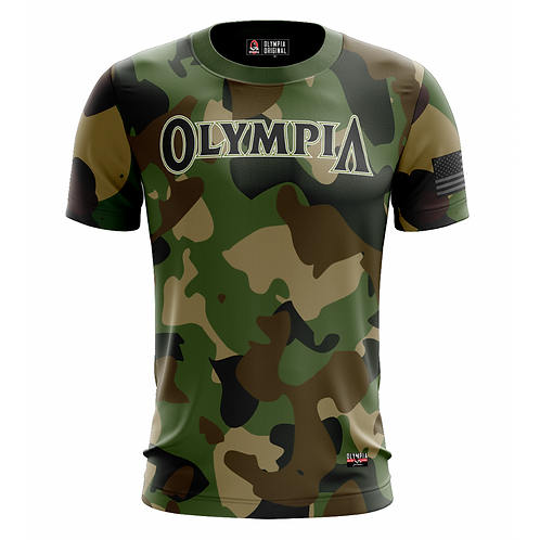 Olympia Camo Print Dry Performance T-Shirt