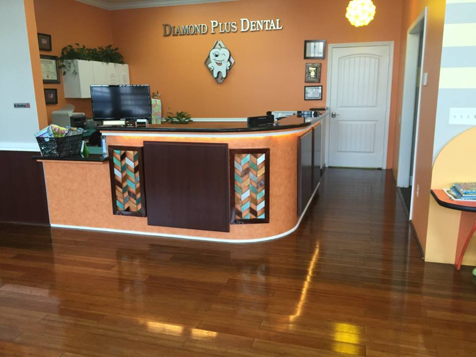 Reception Desk Dentist Office
