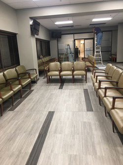 Remodel of waiting area