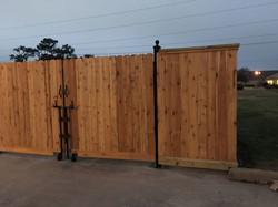 Trash Bin Privacy Fence