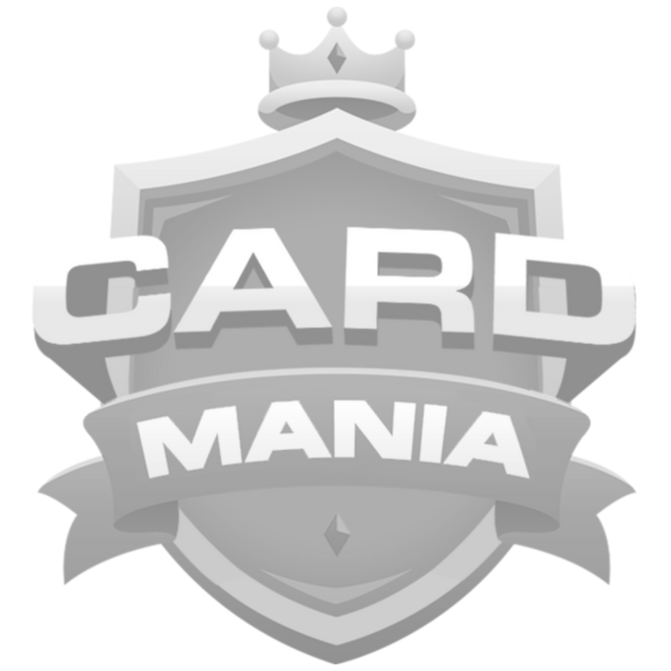 fut card mania logo black and white