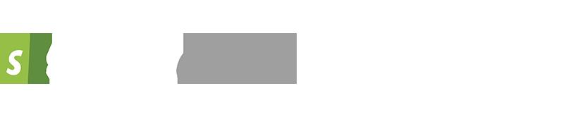 Shopify and shopify plus logo