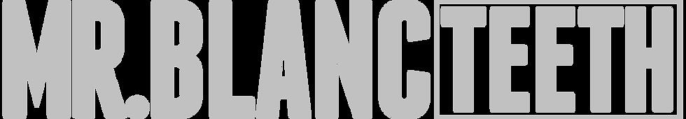 mr blanc teeth logo