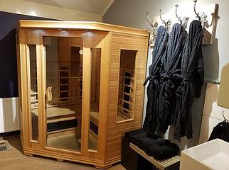 Infrarood sauna privé sauna Haaksbergen