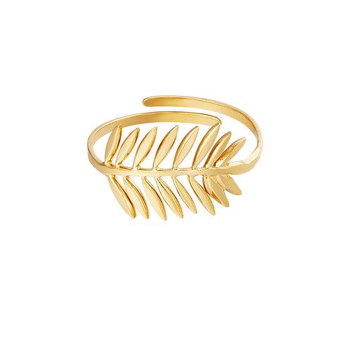 Ring Laurel - goud