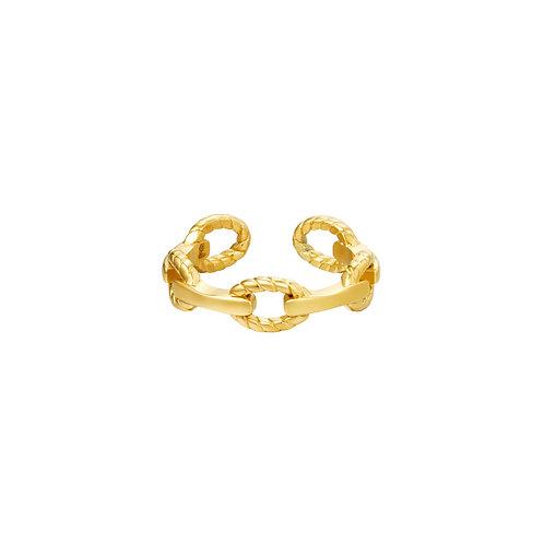 Ring Link It - goud