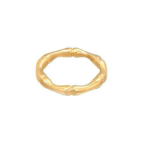 Ring Bamboo - goud