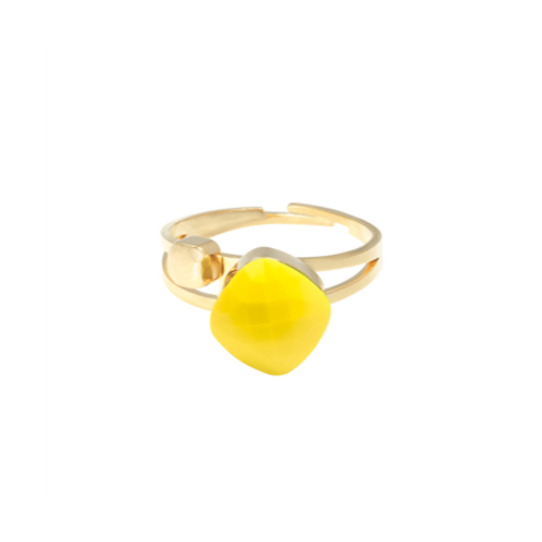 Ring Magic Moments - geel