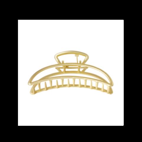 Haarklem metaal Maan - goud