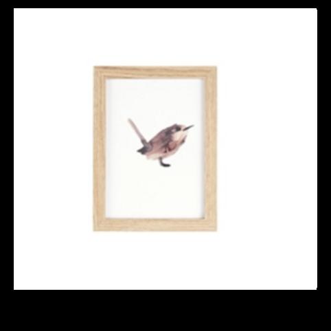 Fotolijstje - Wall art Bird