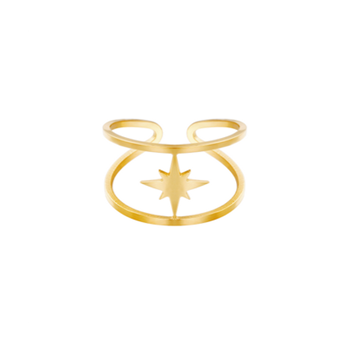 Ring Star Struck - goud