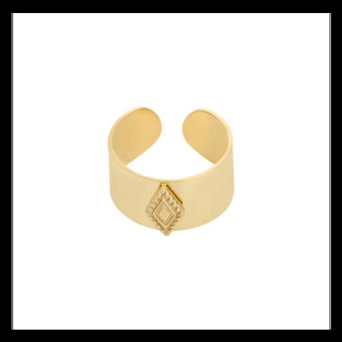 Ring Diamond In The Sky - goud