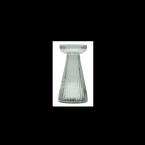 Vaasje  - H12 cm recycled glas