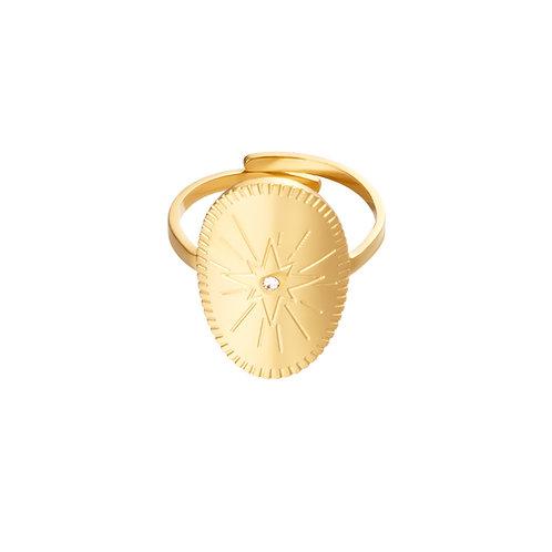 Ring Starring Night - goud