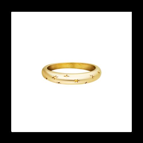 Ring Starry Sky - goud