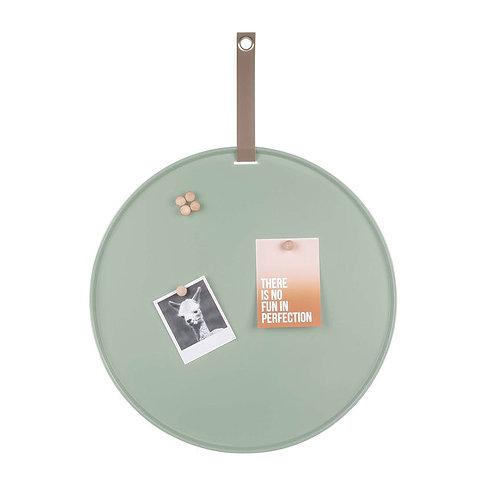 Memo board -  Groen, 50cm, incl. 6 magneten
