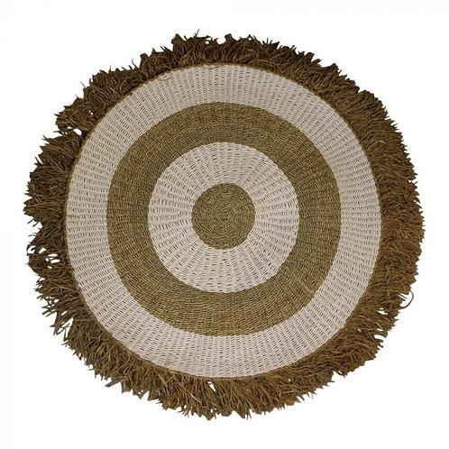 Vloerkleed - Yaro rond zeegras 150cm