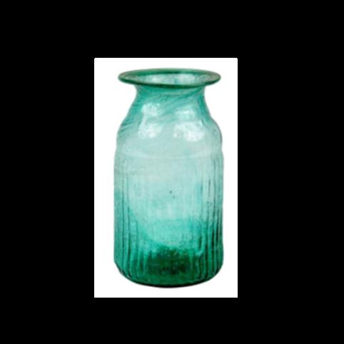 Vaasje  - Cilinder vaasje turquoise