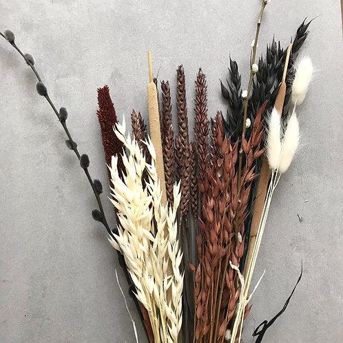 Boeket - Droogbloemen naturel