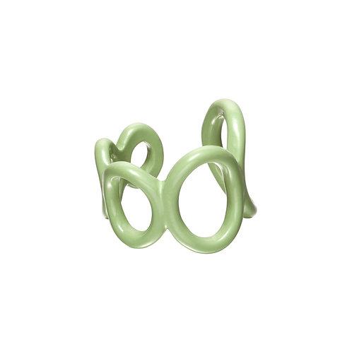 Candy Ring - cirkels groen