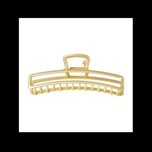 Haarklem metaal Vierkant - goud